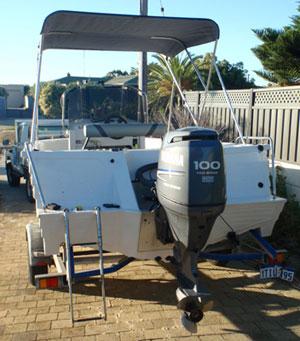 Hiring a boat in Perth Western Australia